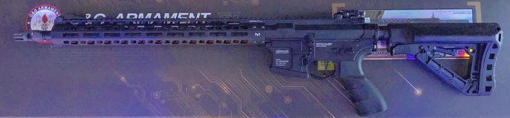 Here is my G&G TR16 MBR 556WH G2 with a Magpul PTS X Rainier Arms XT Comp 14mm CCW flash hider #ggarmament #g2 #airsoftgun #mbr #airsoftworld #airsoftguns #airsoftinternational