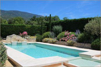 location villa piscine privée bedoin