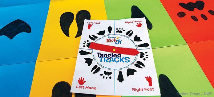 Animal Tracks Twister Game - National Wildlife Federation