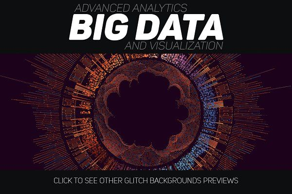 30 Big Data Abstract Backgrounds by GarryKillian on @creativemarket