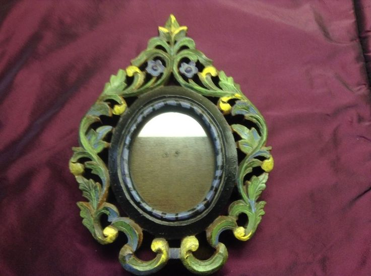 Beautiful Wooden Photo Frame, Hand Carved, Ornate, Vintage, Shabby Chic | eBay