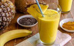 Suco Detox de Banana e Abacaxi Para PERDER 5Kg em 10 Dias