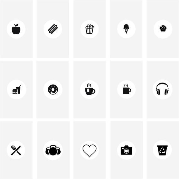 Sale 70 Off Gray Instagram Highlight Icon Cover Template Etsy