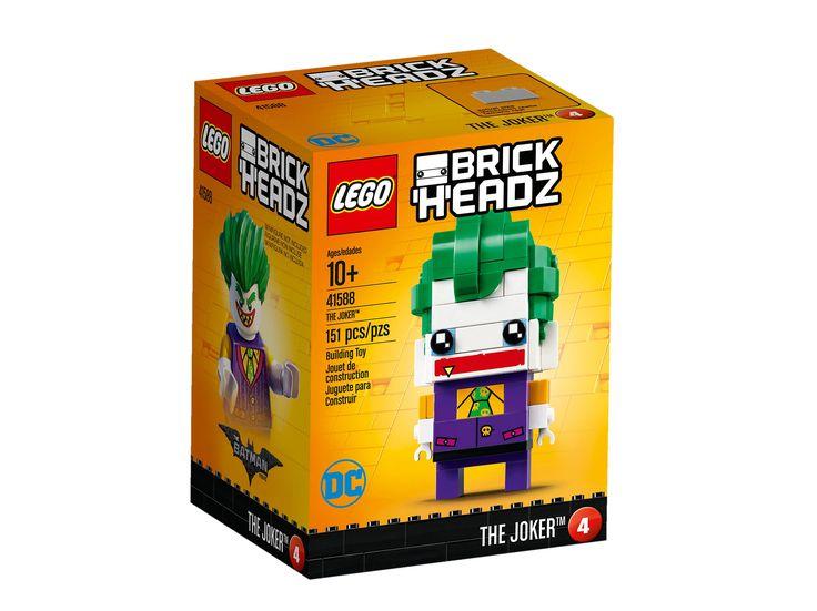 #Lego #LEGO® #41588   LEGO Bricks & More The Joker Gebäudeset  Alter: 10+ Teile:  151LEGO ® Brickheadz The Joker 41588.    Hier klicken, um weiterzulesen.  Ihr Onlineshop in #Zürich #Bern #Basel #Genf #St.Gallen