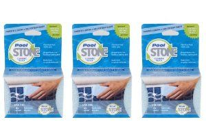 PoolStone Pool and Spa Cleaning Block, 3-Pack by Earthstone. $21.91. Removes hard water, rust, minerals and mildew stains. Chemical-free and made from 98-percent recyclable materials. Gunite, plaster, tile and filter safe tile cleaner. Cleans your pool surface faster than brushes or any other surface tile cleaner. Unlike a chemical pool and ceramic tile cleaner, PoolStone will not disturb the chemical balance of your pool. PoolStone Pool & Spa Cleaning Block not only works bette...