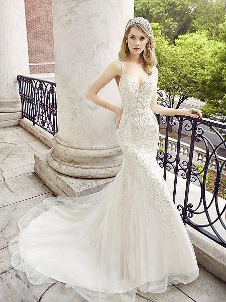 Best Style CALLA Glamorous Wedding DressesBeaded