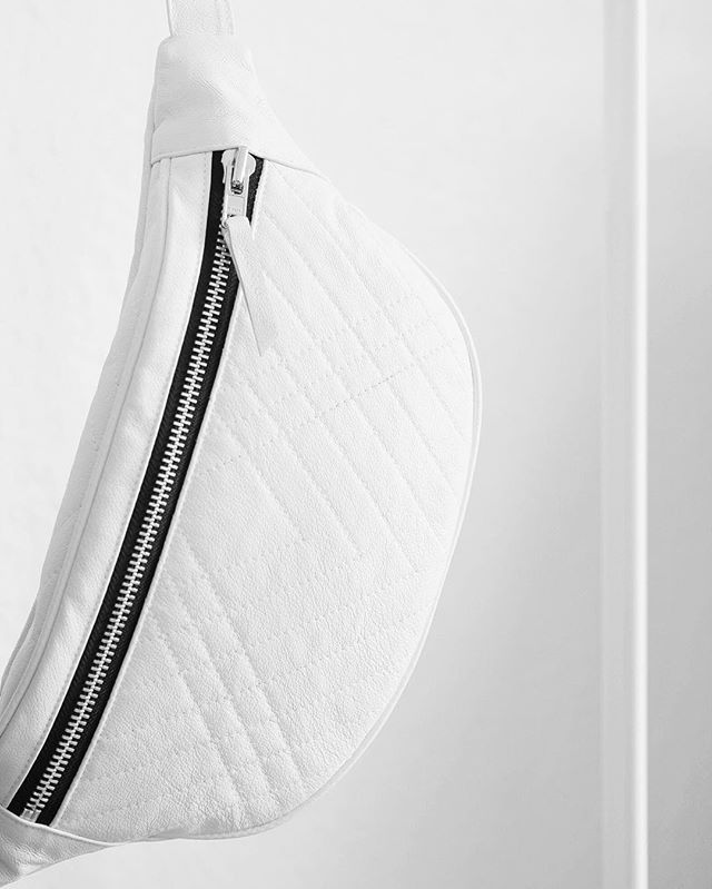 This limited edition CF quilted bumbag is #handcrafted in Denmark and made from 100% #recycledleather - available at www.christinafischer.dk
