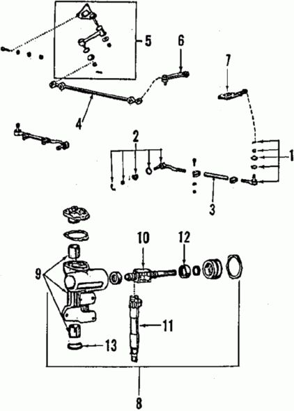 1992 Toyota Pickup Exhaust System Diagram Di 2020