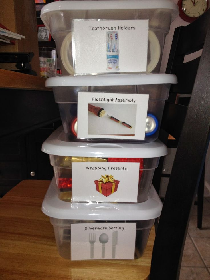 Sped-ventures: Pre-Vocational Work Boxes