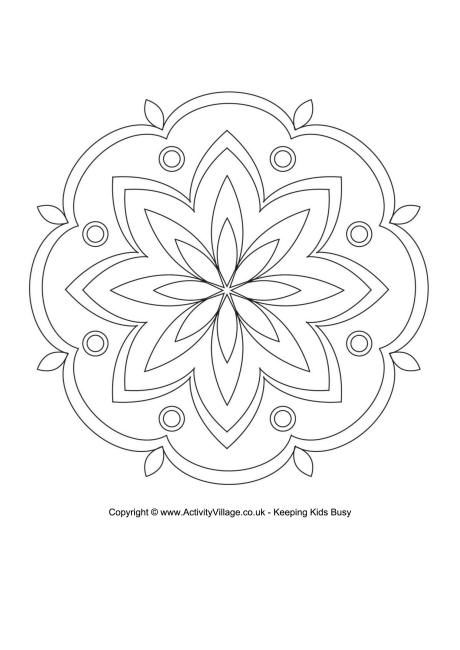 Rangoli Coloring Pages For Adults : Best images about templates patterns on pinterest