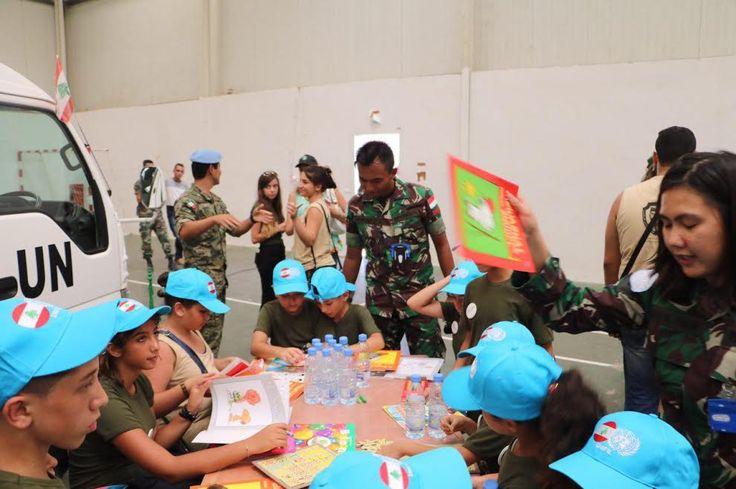 Partisipasi Satgas Indobatt Dalam Acara Kunjungan Anak Yatim LAF