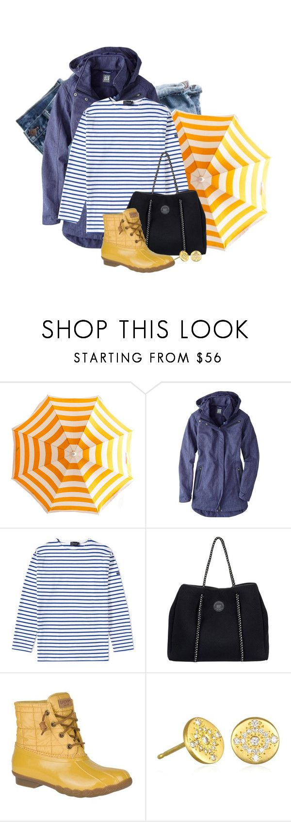 """Untitled #2379"" by anfernee-131 ❤ liked on Polyvore featuring J.Crew, Title Nine, Armor-Lux, Roxy and Sperry"