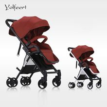 US $213.86 YOLFEERT High View Cheap Baby Pram Carriage Lightweight Folding Stroller Wheel-chair Trolley Prams Strollers China Pushchair. Aliexpress product