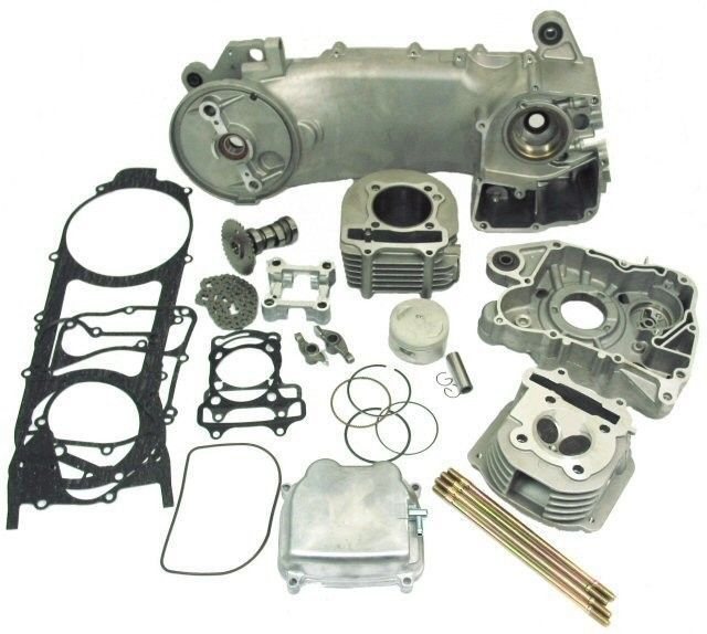 GY6 180cc Power Kit 150cc and 125cc 4stroke GY6 Engines