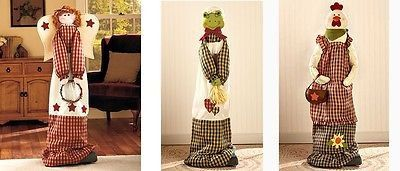 Vacuum Cleaner Cover Upright Country Rustic Primitive Cabin Angel Frog Rooster