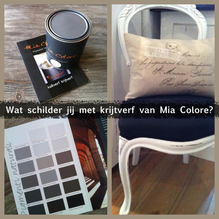 Wat schilder jij met krijtverf van Mia Colore?