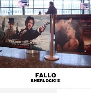 Fallo Sherlock