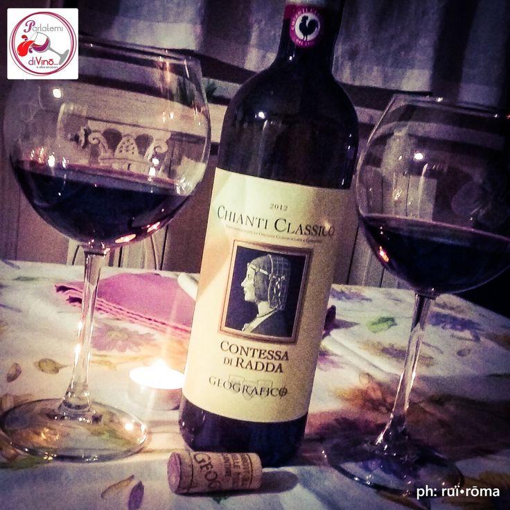 Parlatemi di Vino... Chianti Classico DOCG, Contessa di Radda, 2013, Cooperativa fra Agricoltori del Chianti Geografico, Toscana. #chianti #chianticlassico #DOCG #toscana #sangiovese #canaiolo #colorino #vinorosso #rosso #tinto #red #italianwine #vinoitaliano #wine #glass #instagood #redwine #Italy #style #excellent #winelover #winespectrum #instawine #solocosebuone  #ruiroma #parlatemidivino https://www.facebook.com/parlatemidivino
