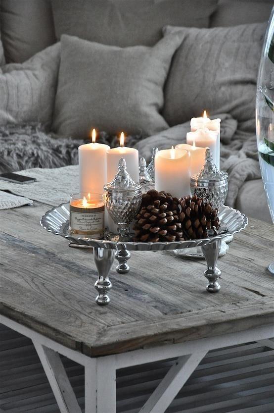 Just beautiful.....Holiday Decor Ideas
