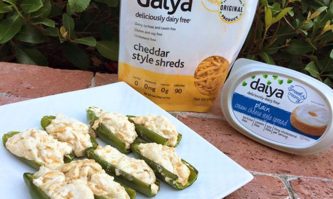 Plant-Based Jalapeño Poppers - Daiya Foods, Deliciously Dairy-Free Cheeses, Meals & More