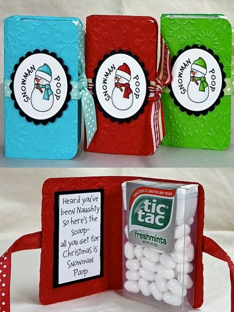 "Cheap Secret Santa Gifts  Snowman Poop Christmas Gift Idea. (or idea for Mia Maid ""first dance"" gift,would have to change the ""snowman poop"") ☀☆Please Repin - #GiftPinPtrCom☆☀"