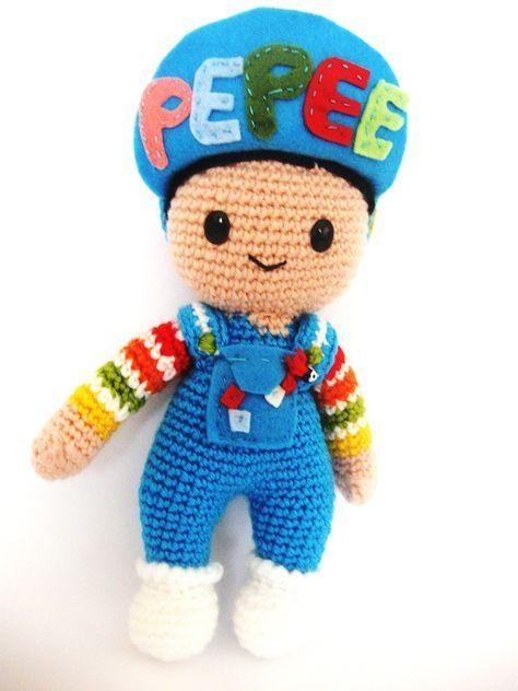 Örgü oyuncak Pepee yapılışı   Yasemin Kale