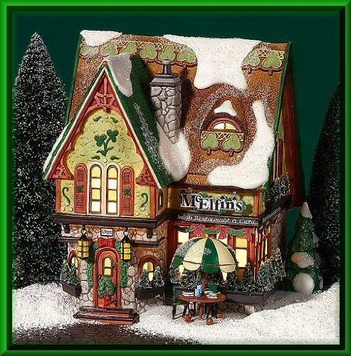 Department 56 North Pole McElfins Irish Restaurant  Gifts -- Visit the image link more details.