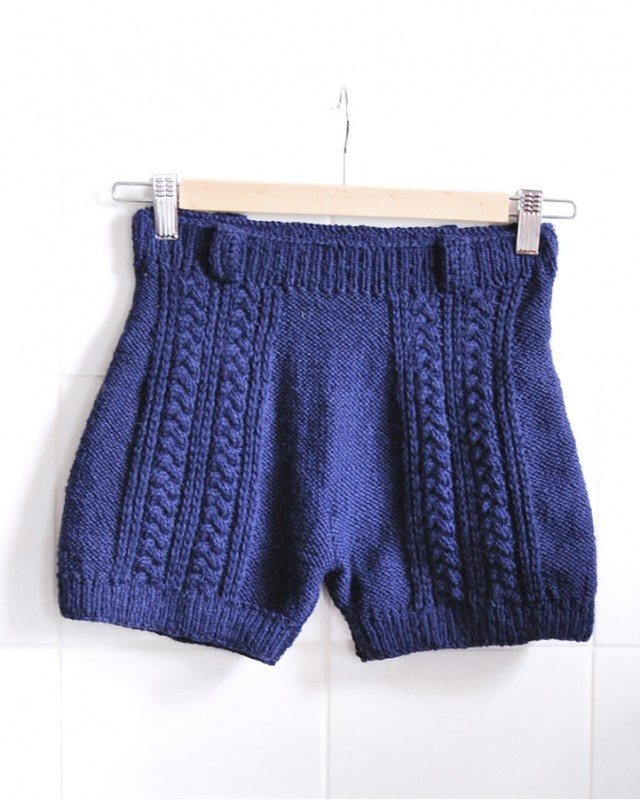 8 best Knitted shorts images on Pinterest | Knit crochet, Knitting ...