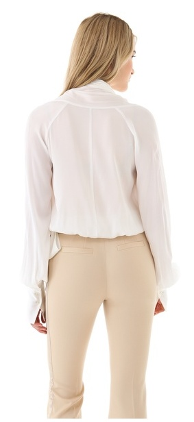 Click on the image for more info #rachel #zoe #collection #fashion #must #have #beige #trousers #pants #70's #chic #buy #tuxedo #spring2013 #glamour