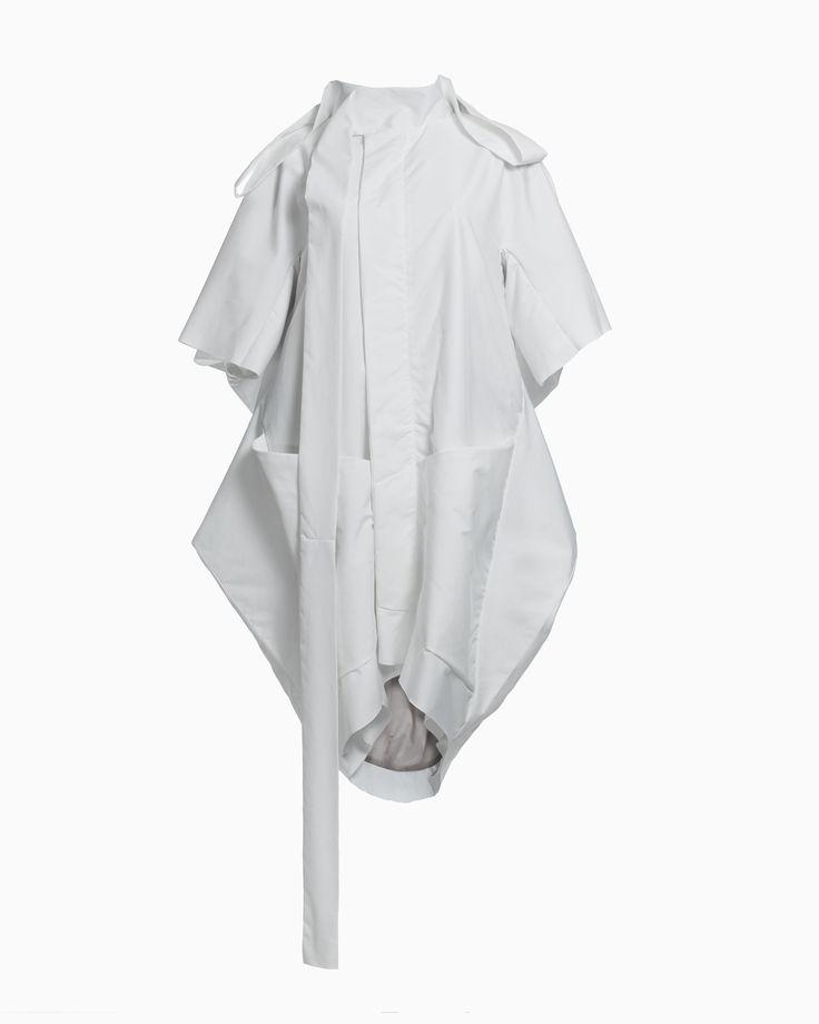 Raincoat With Casual Flap • HANA ZARUBOVA