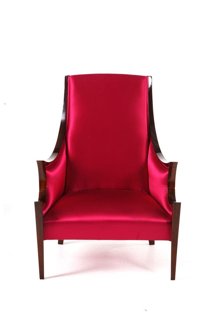 "Sensuality: ""Tempting. Seductive. Alluring."" www.bateye.com #bateye #bateyecollection #bateyepieces #luxury #luxuryfurniture #armchair"