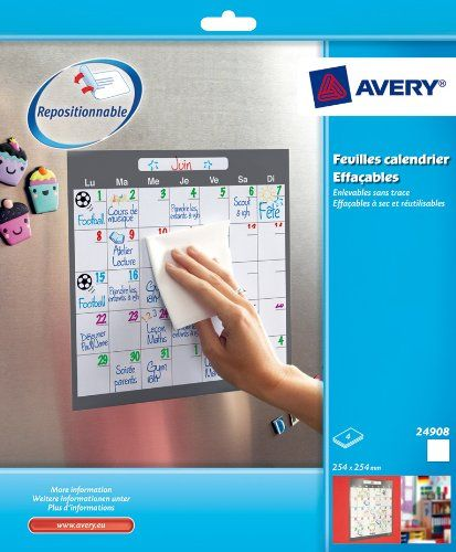 Avery Feuilles calendrier effaçables à sec adhésifs et repositionnables 25,4cmx25,4cm Avery https://www.amazon.fr/dp/B005X6L11S/ref=cm_sw_r_pi_dp_cjTcxb5D6SXHT