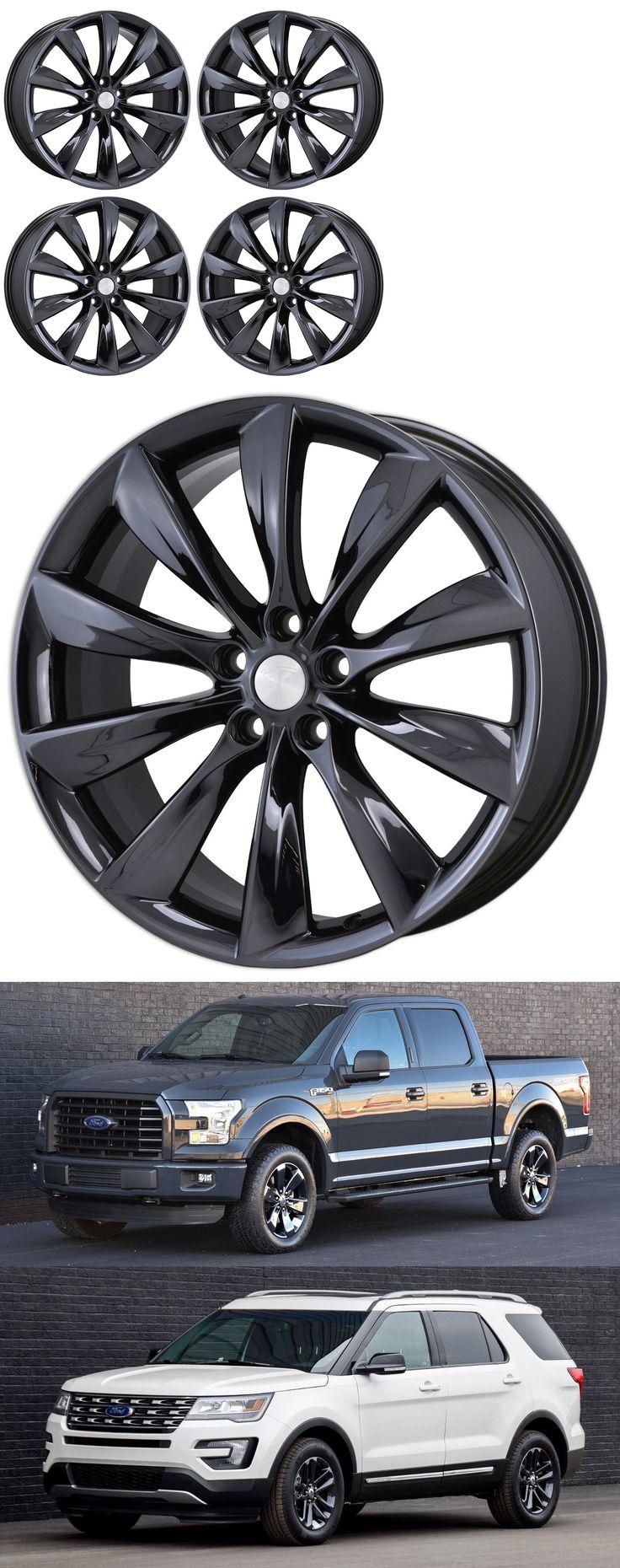 auto parts - general: 21 Tesla Model S Black Chrome Wheels Rims 2016 Factory Oem 97095 Exchange BUY IT NOW ONLY: $799.0
