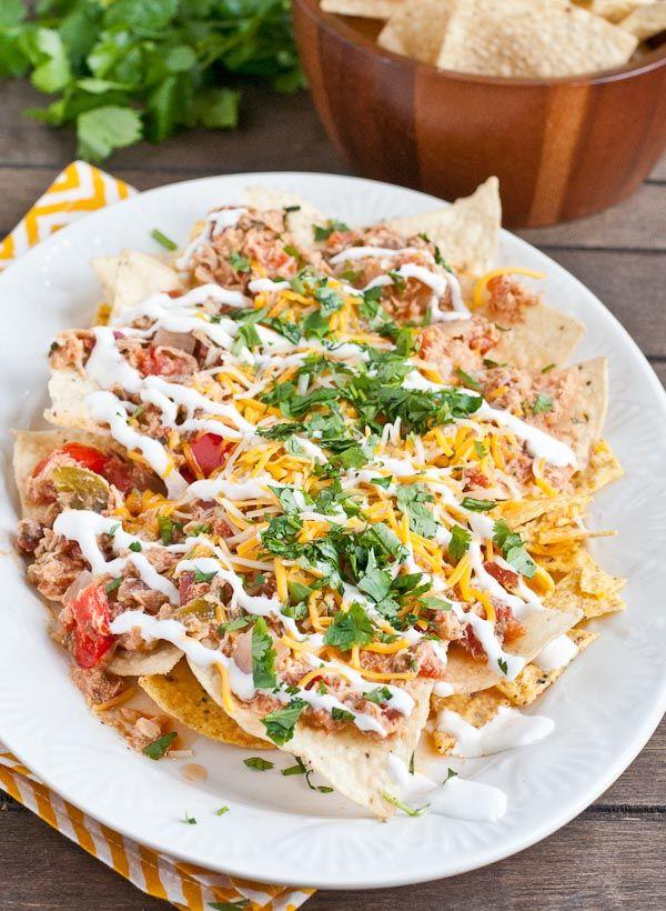 Slow Cooker Chicken Chilaquiles | Recipe | Nachos, Slow Cooker Chicken ...