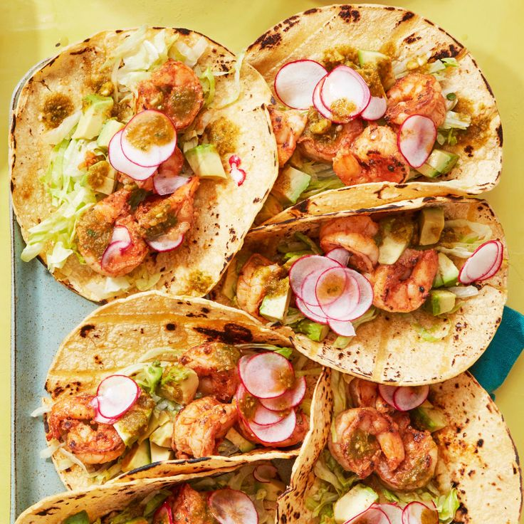 Spicy Shrimp Tacos - Rachael Ray Every Day