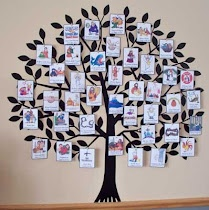 Jesus tree for Lent with free printables in color and black and white.