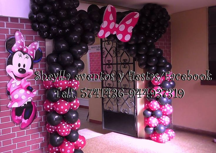 17 best images about minnie mouse on pinterest birthday for Decoracion minnie mouse