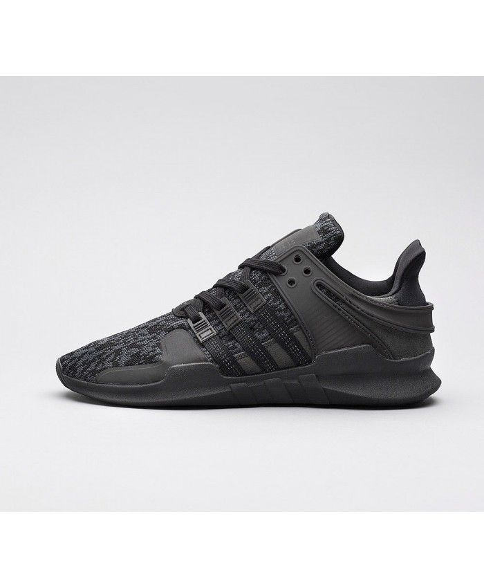 low priced 8ffac 03fc7 Adidas EQT Support ADV Reflective Trainers In Core Black ...