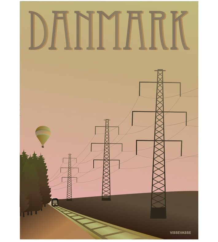 DANMARK - Masterne. You can buy this piece at www.artrebels.com #artrebels #art #vissevasse