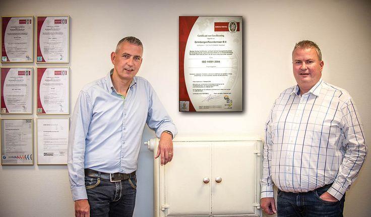 Milieuzorgsysteem ISO 14001 voor Grimbergen-Noordermeer - Rijnstreek Business