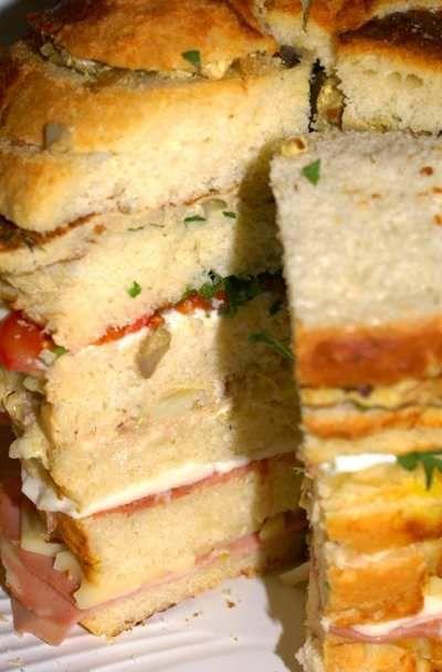 Ricetta Panettone Gastronomico: Ricetta Bimby da Ricette Bimby