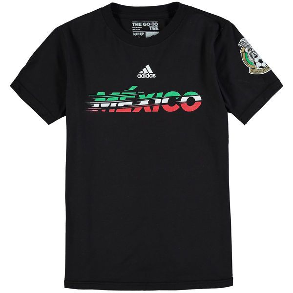 Mexico Soccer adidas Youth Graphic T-Shirt - Black - $13.99