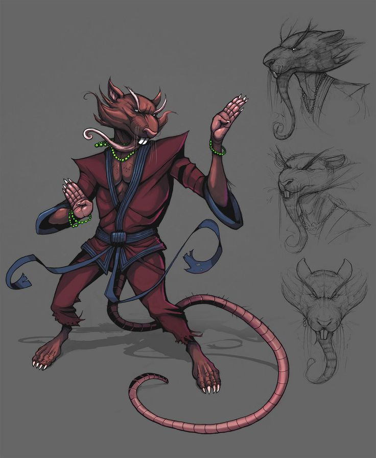 Master Splinter by Teratophile on deviantART