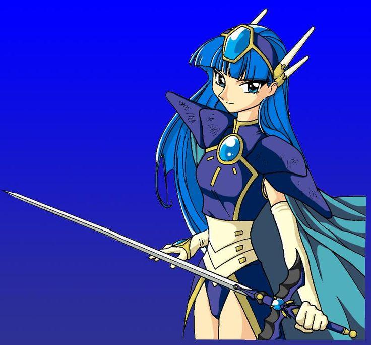 Pin By Hikaru On Umi In 2020 Magic Knight Rayearth Anime Knight