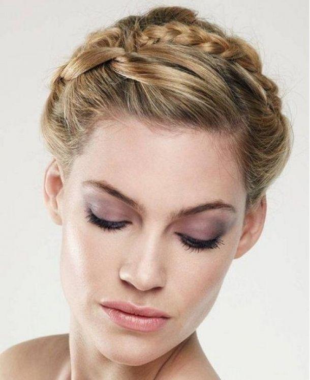 Lovely Wedding Updos For Medium Length Hair Best Hairstyle - Free Download Lovely Wedding Updos For Medium Length Hair Best Hairstyle #10099 With Resolution 495x606 Pixel | KookHair.com