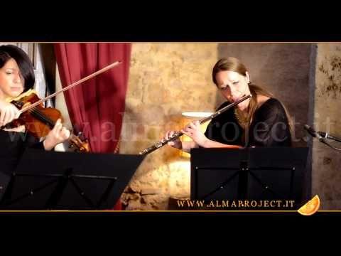 ALMA PROJECT - Harp, Violin & Flute DC - Nuovo Cinema Paradiso (Ennio Morricone) - YouTube