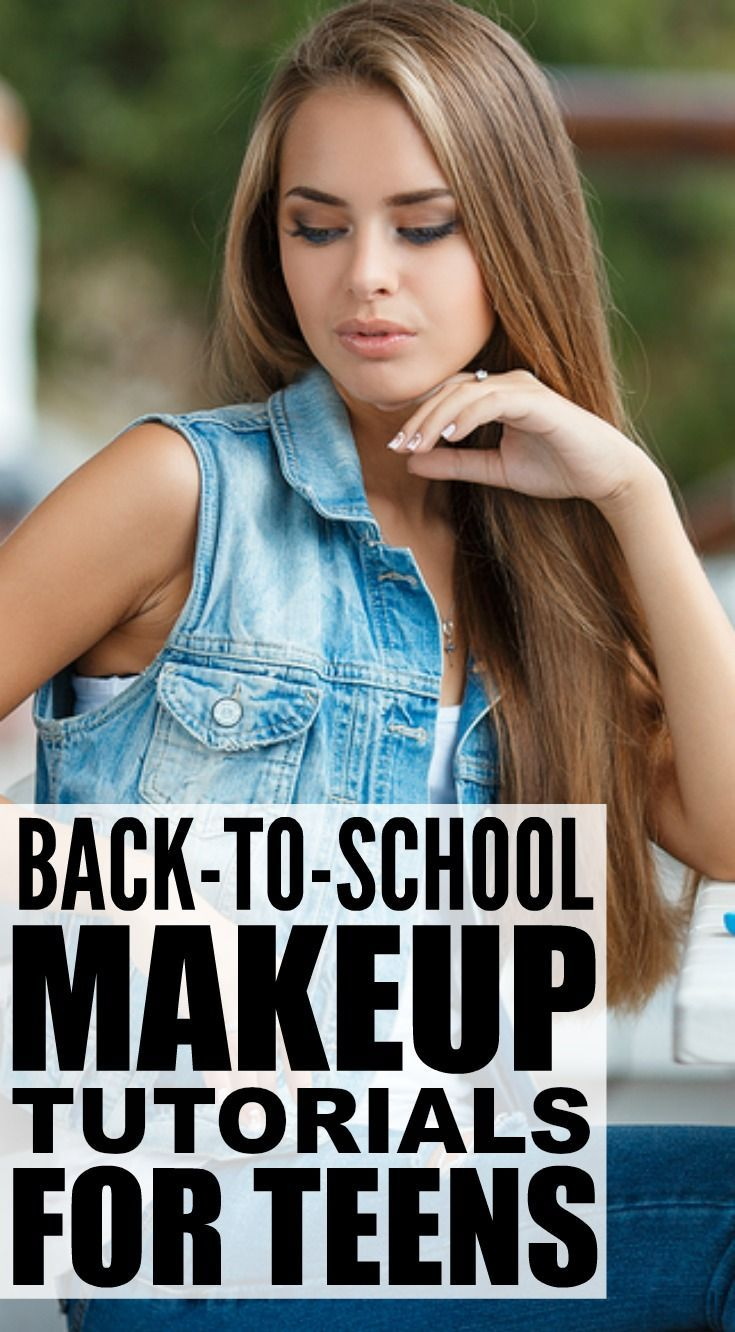 Looking for the perfect back-to-school makeup tutorial for teens to give you a quick, natural look now that summer is over, another year of high school is looming ahead of you, and your darn alarm clock will be waking you up at the crack of dawn 5 days a week for the next 10 months? No sweat. We've got 5 fabulous makeup tutorials for beginners to teach you the basics, including essentials for your makeup bag, so you can look fabulous even on days you're running late.