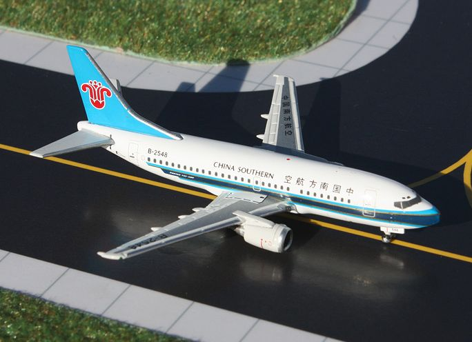 1/400 GeminiJets China Southern Airlines Boeing 737-500 Diecast Model