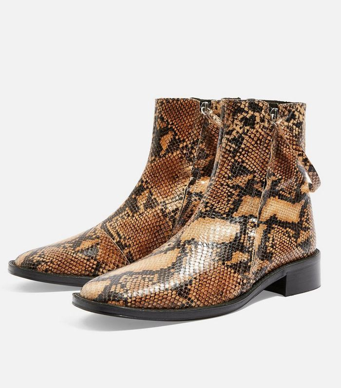 Boots, Trending boots, Flat leather boots