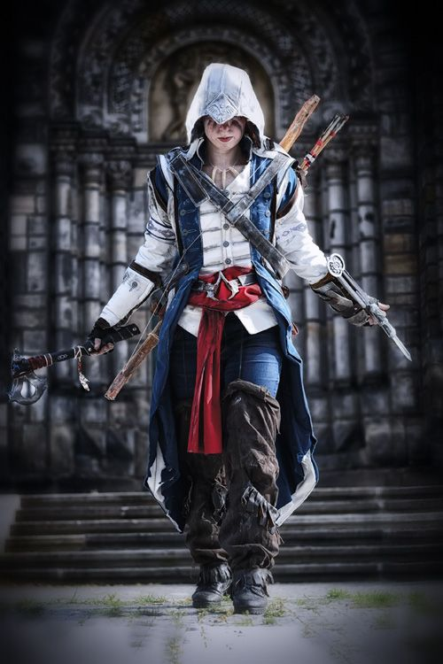 Connor Kenway From Assassins Creed Iii Cosplay Http Geekxgirls